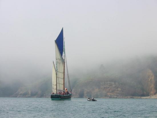 la Nébuleuse dans la brume