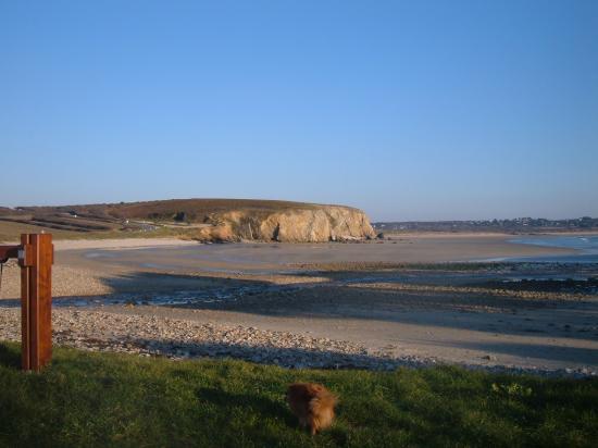 Camaret: la plage de Kerloc'h