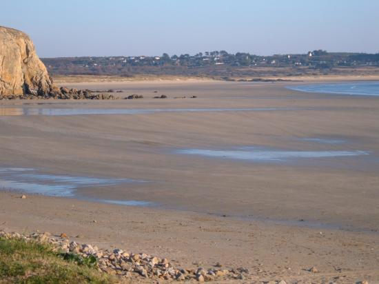 La plage de Kerloc'h et de Kerséguénou