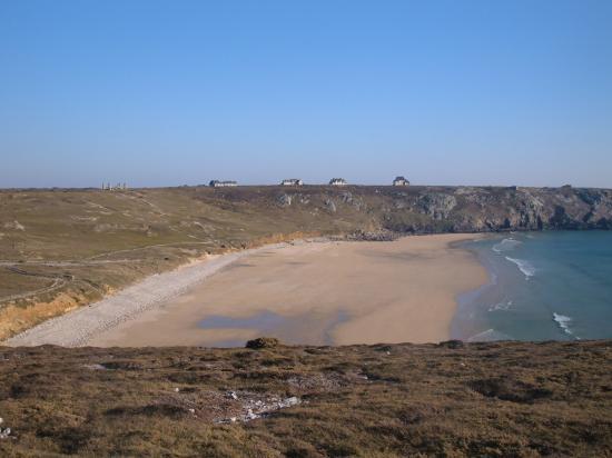 La plage de Pen Had à Camaret