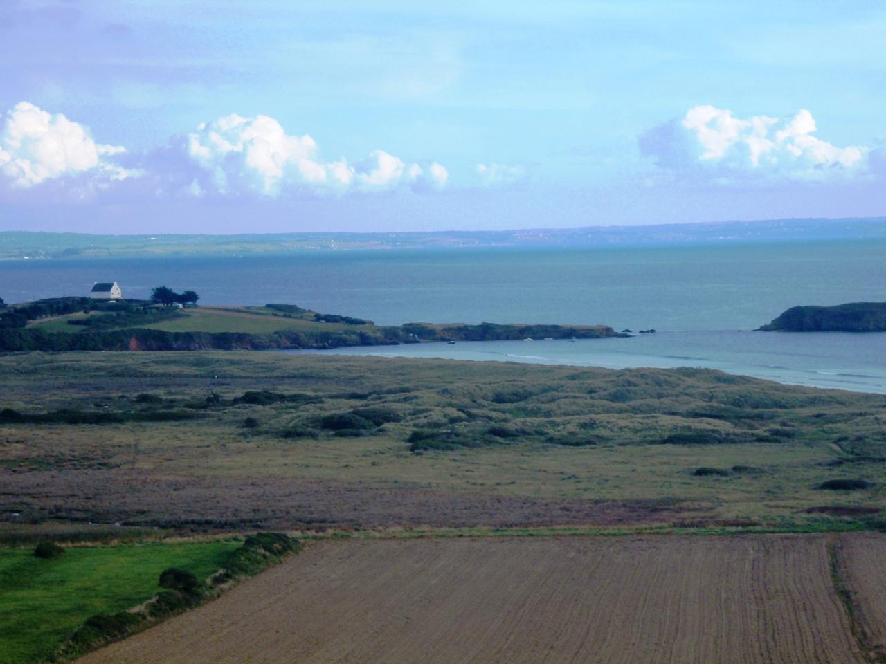 Crozon-vue de l'Île de l'Aber