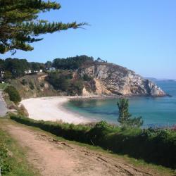 la plage du Portzic