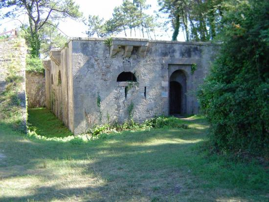 Le fort de Morgat