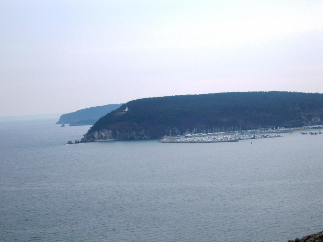 le port de Morgat-la pointe du Kador