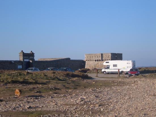 Les fortifications de la pointe du Toulinguet