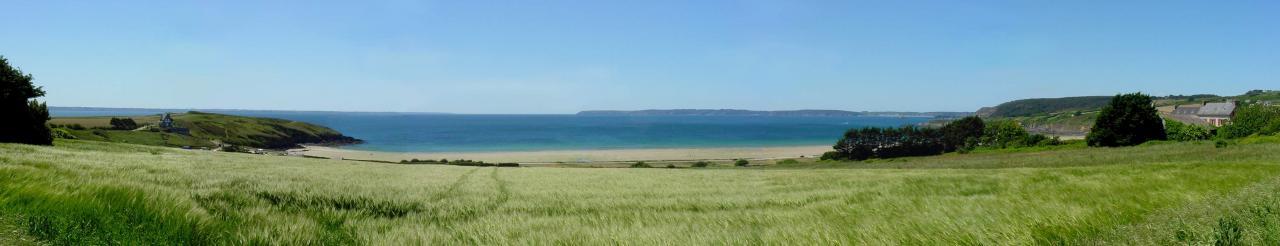 panoramique site de trez bellec